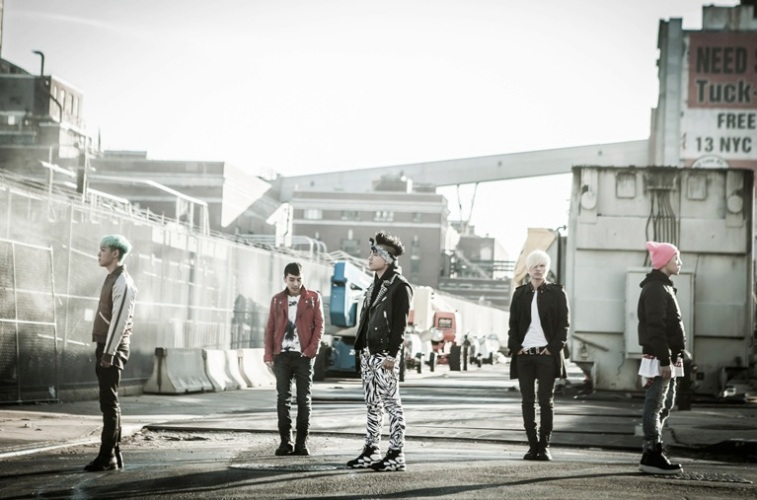 "Big Bang's ""Blue"" MV Photo Shoot in New York (from Cyworld) [PHOTOS]"