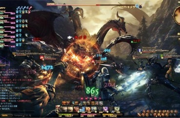 "Final Fantasy XIV's ""Cross Hot Bar"" is reminiscent of the"