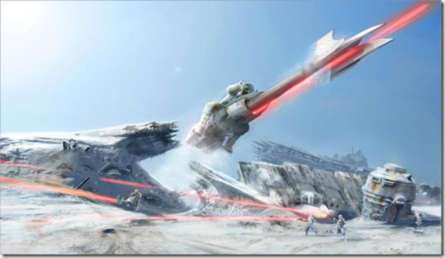 Star Wars Vehicle Concept Art