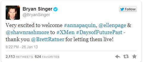 BSinger Tweet
