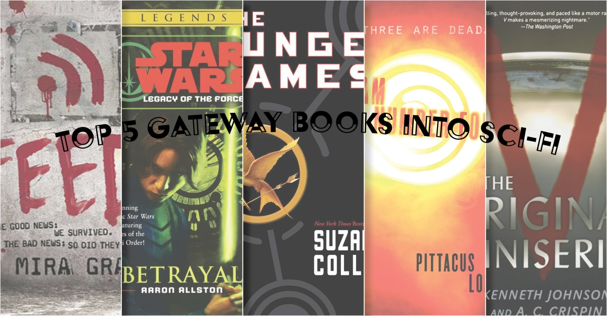 Top 5 Gateway Books into Science Fiction