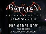 New Playables for Batman: Arkham Knight
