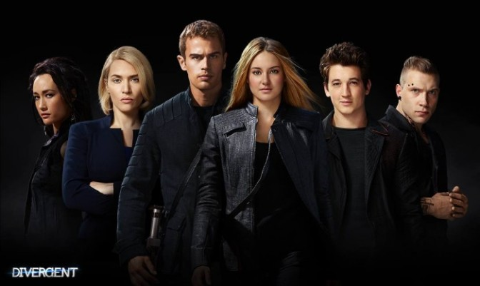 Bland but entertaining | Cyn's Movie Review – Divergent