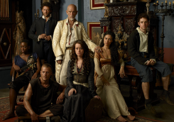 The brilliant cast of Crossbones