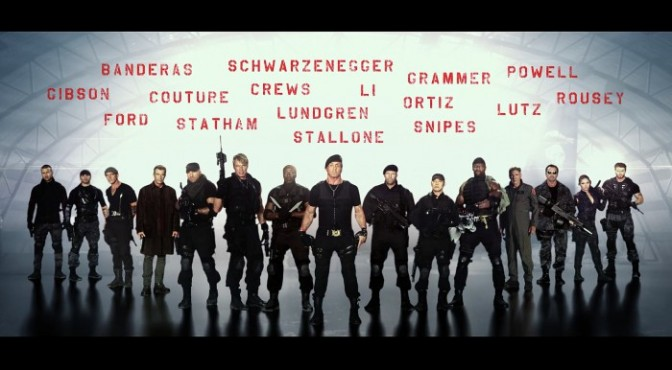 A Macho Film That's Not At Its Finest   Review of 'The Expendables 3'