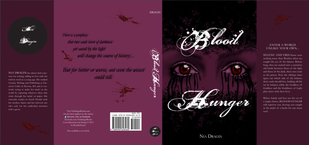 Blood Hunger Cover (Indesign Project)