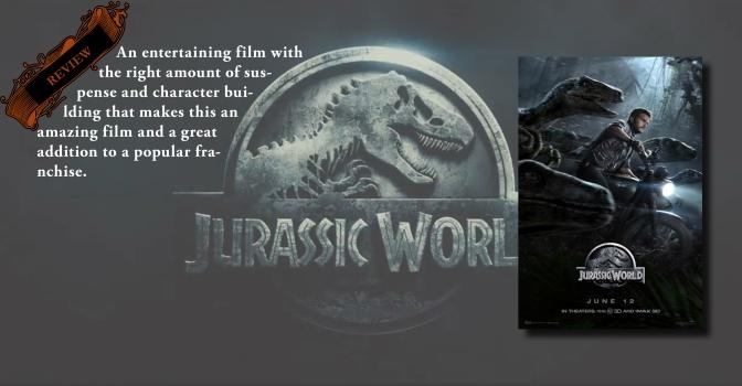 Dinosaurs & Pratt: A Winning Combination | Review of 'Jurassic World'