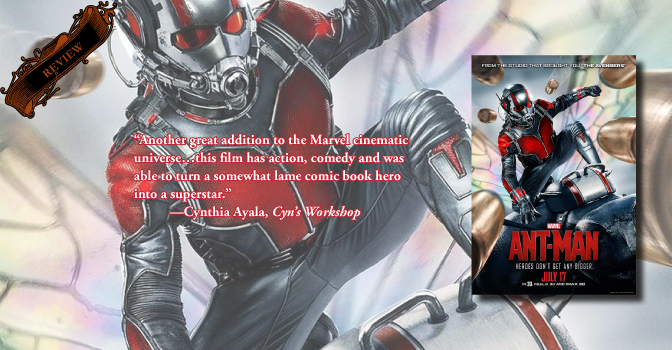 A Speck of Brilliance, Marvel Does it Again | Review of 'Ant-Man'
