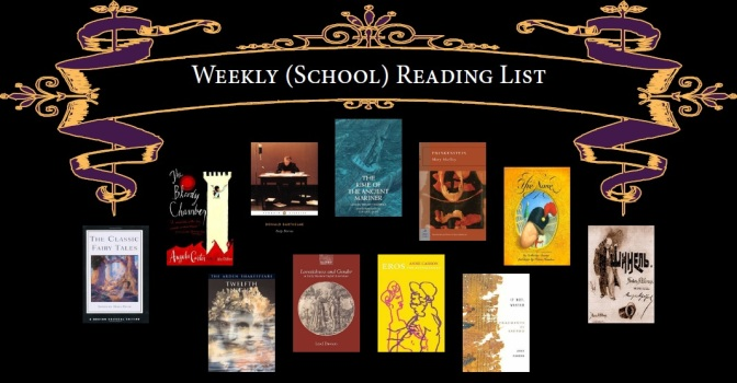 Weekly (School) Reading List – Fall 2015 – Week 3