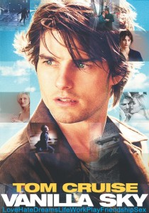 Vanilla Sky starring Tom Cruise, Penelope Cruz & Cameron Diaz