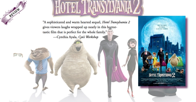 Sophisticated and Bubbly Perfectly Woven Together | Review of 'Hotel Transylvania 2'