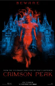 'Crimson Peak' starring Mia Wasikowska, Jessica Chastain & Tom Hiddleston, Universal Pictures