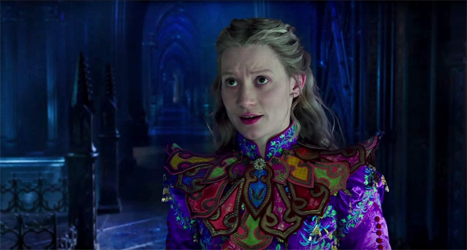 A First Look at 'Alice Through the Looking Glass'