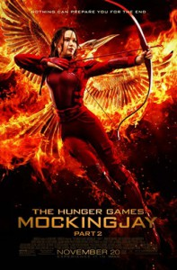 'The Hunger Games: Mockingjay Part 2' starring Jennifer Lawrence, Josh Hutcherson & Liam Hemsworth