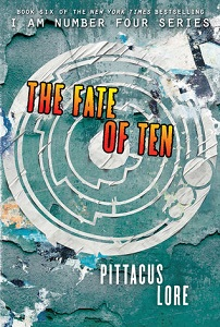 'The Fate of Ten' by Pittacus Lore HarperCollins
