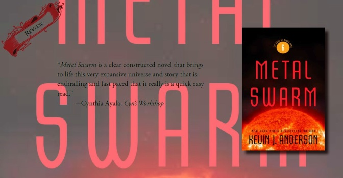 Full of Excitement & Amazing Character Evolutions | Review of 'Metal Swarm' (The Saga of Seven Suns, #6)