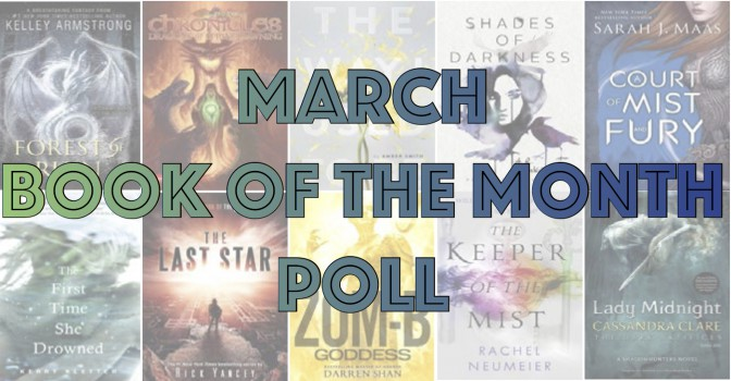 March Book of the Month Poll