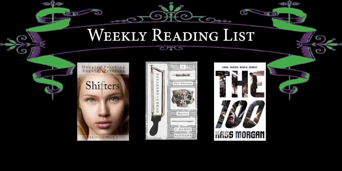 Weekly Reading List 35 Cyns Workshop
