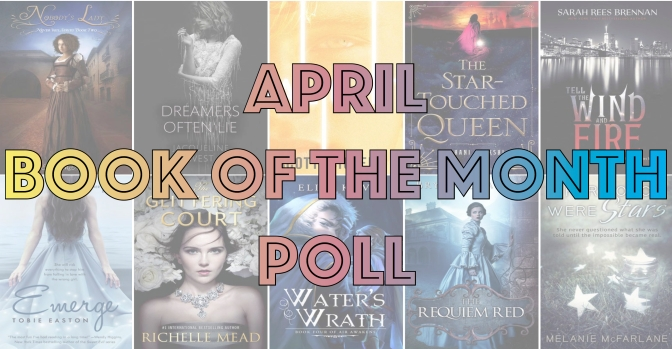 Book of the Month Poll – April 2016