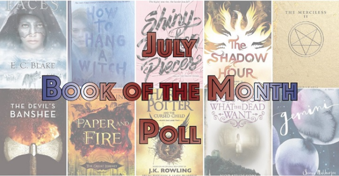 Book of the Month Poll – July 2016