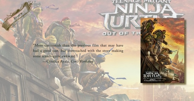 A Little Too Cartoonish | Review of 'Teenage Mutant Ninja Turtles: Out of the Shadows'