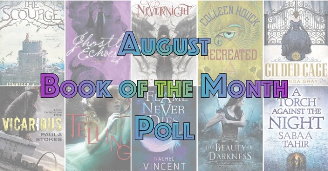 Book of the Month Poll – August 2016
