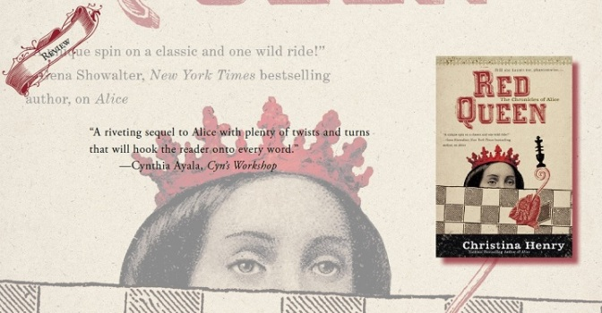 A Riveting Character Driven Read | Review of 'Red Queen' (The Chronicles of Alice #2)