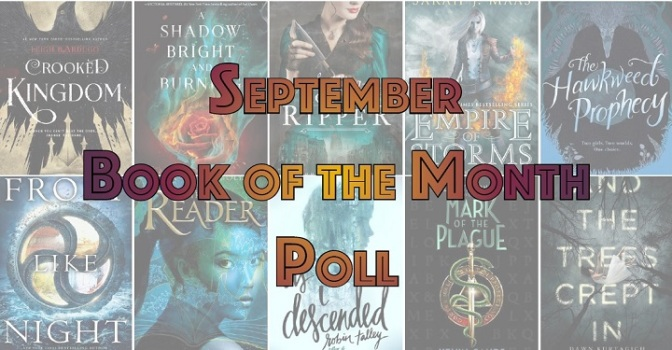 September Book of the Month Poll Banner