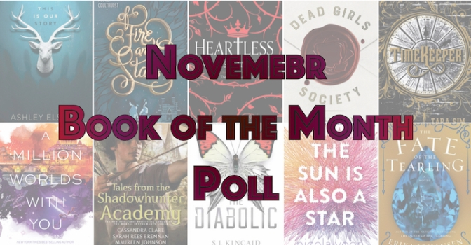Book of the Month Poll – November 2016