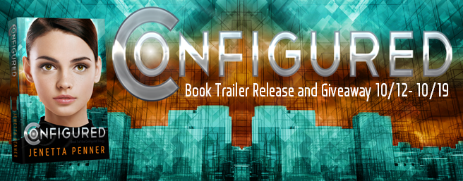 Configured Book Trailer Reveal and Giveaway