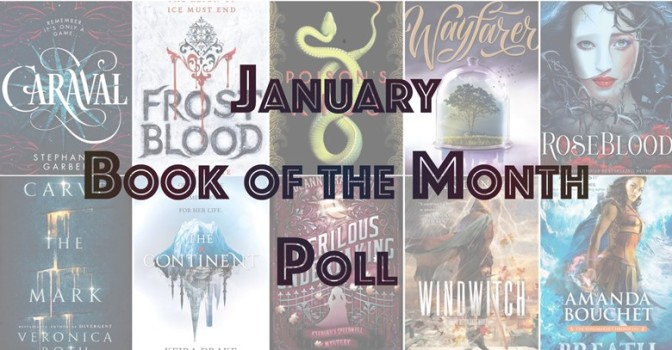 Book of the Month Poll – January 2017