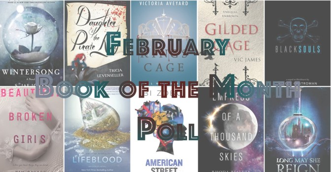 Book of the Month Poll – February 2017