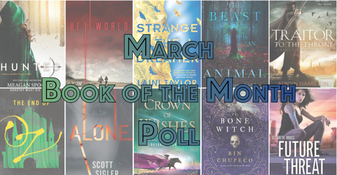 Book of the Month Poll – March 2017