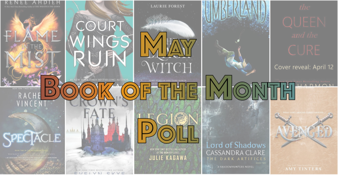 Book of the Month Poll – May 2017
