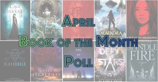 Book of the Month Poll – April 2017