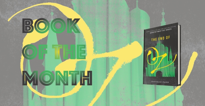 Book of the Month – March 2017