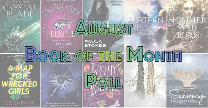Book of the Month Poll – August 2017