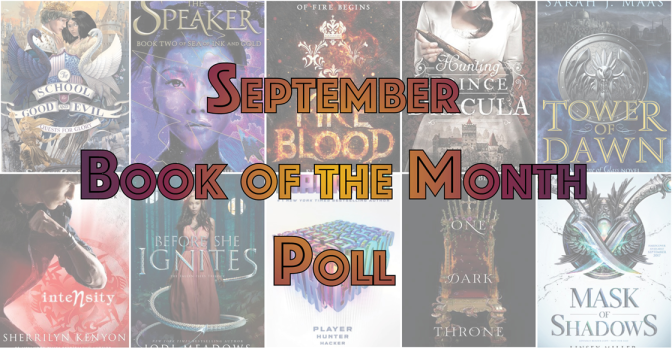 Book of the Month Poll – September 2017