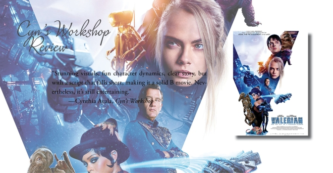 Stunningly Ambitious   Review of 'Valerian and the City of a Thousand Planets'