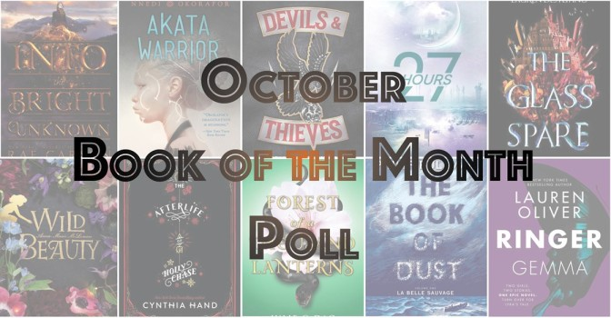 Book of the Month Poll – October 2017
