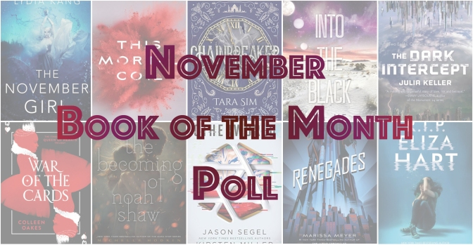 Book of the Month Poll – November 2017