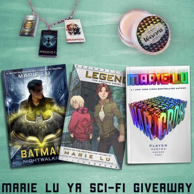 Marie Lu YA Sci-Fi Giveaway
