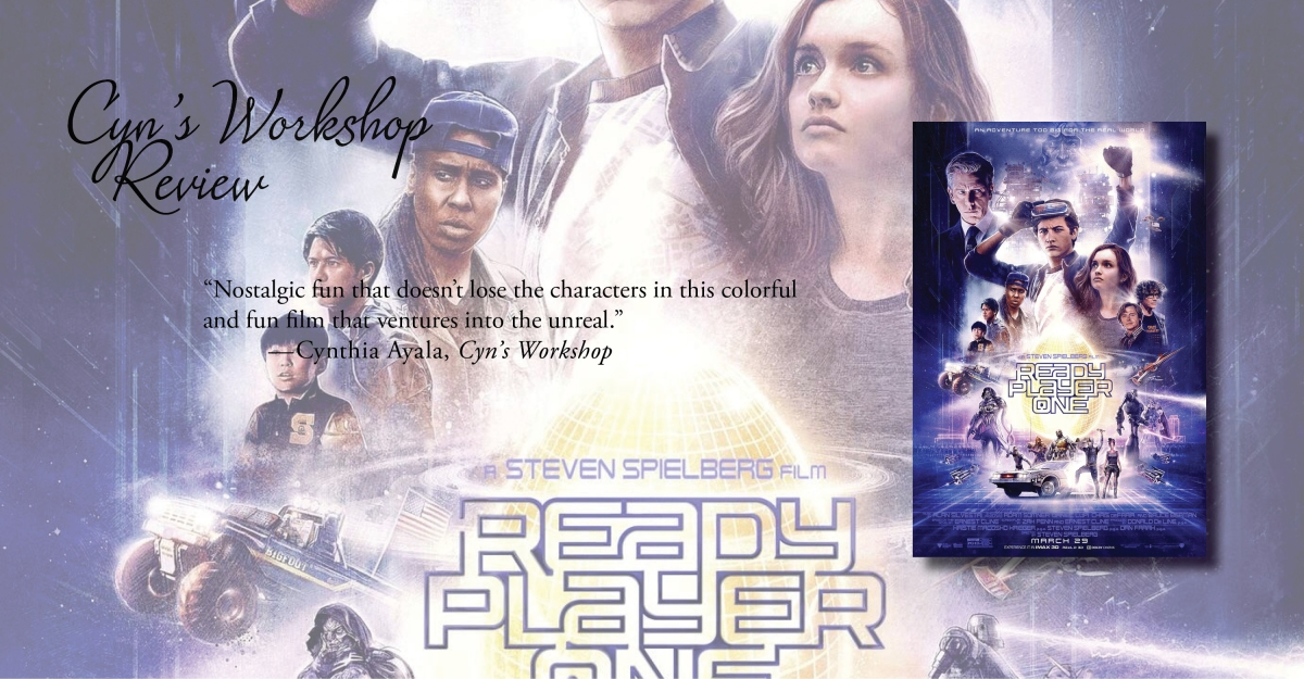 Nostalgic Futuristic Fun | Review of 'Ready Player One' (film)