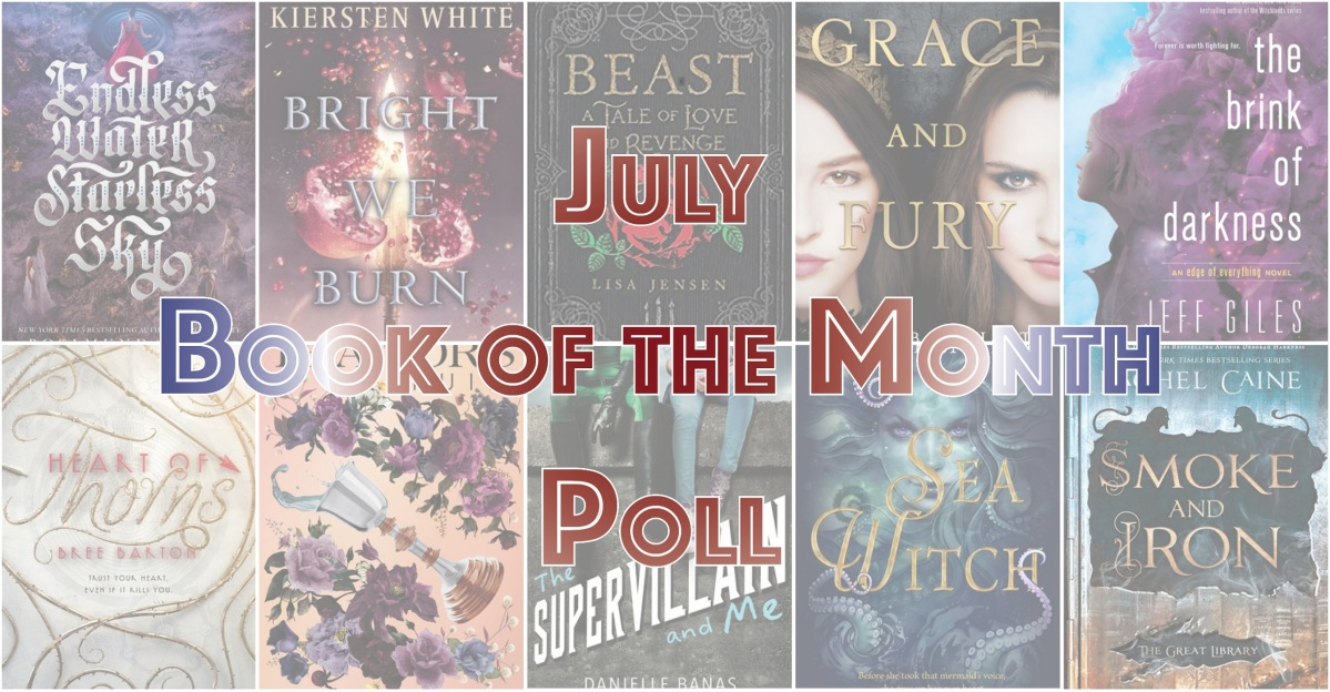 Book of the Month Poll – July 2018
