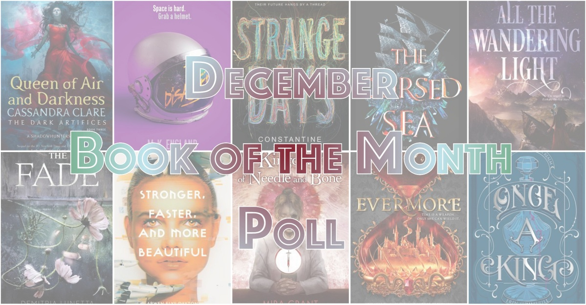 Book of the Month Poll – December 2018