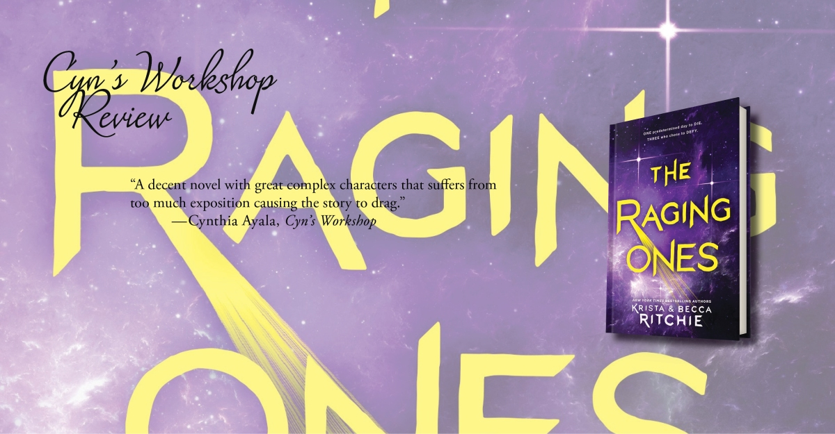 Interesting & Unique Yet Monotonous| Review of 'The Raging Ones' (The Raging Ones #1)